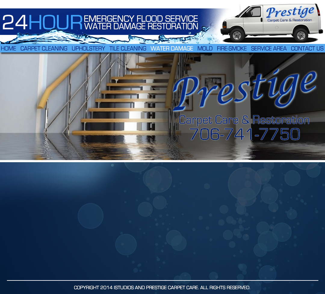 Prestige Carpet Care 24 HOUR WATER DAMAGE AND FLOOD SERVICE