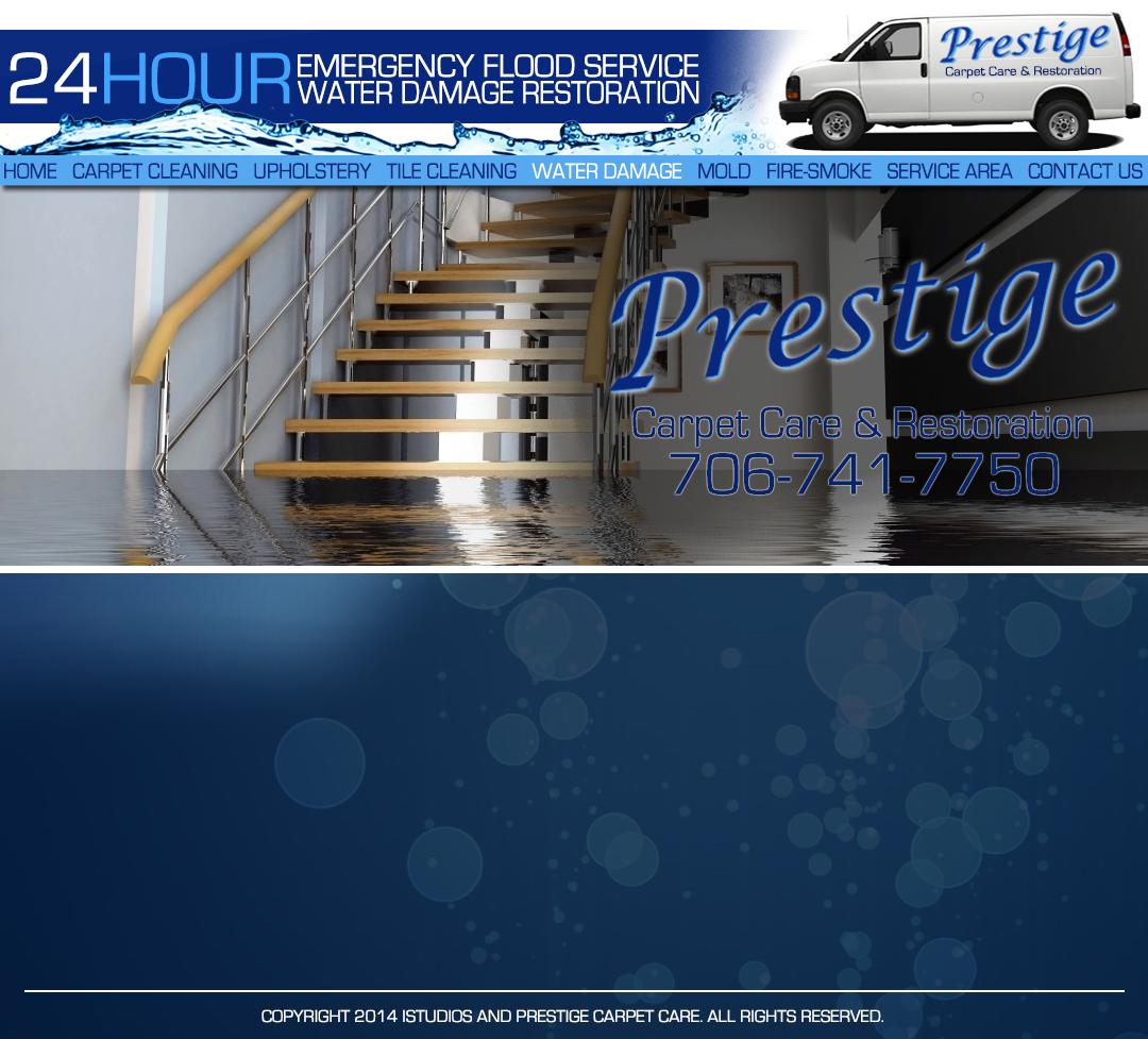 Prestige Carpet Care 24 HOUR WATER DAMAGE AND FLOOD SERVICE